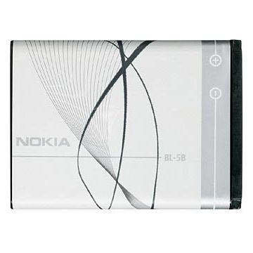 NOKIA BL-5B 760mAh, Li-Ion Akku, für Nokia N90, 7360, 7260, 6060, 6021, 6020, 5140i, 5140, 3230, 322