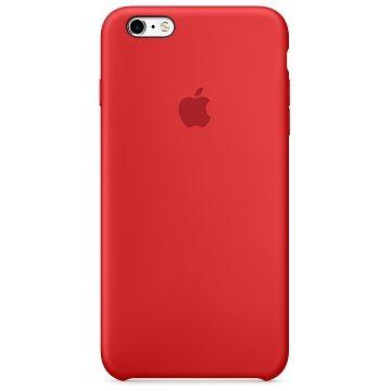 APPLE iPhone 6S Silikonhülle, Rot (MKY32ZM/A)