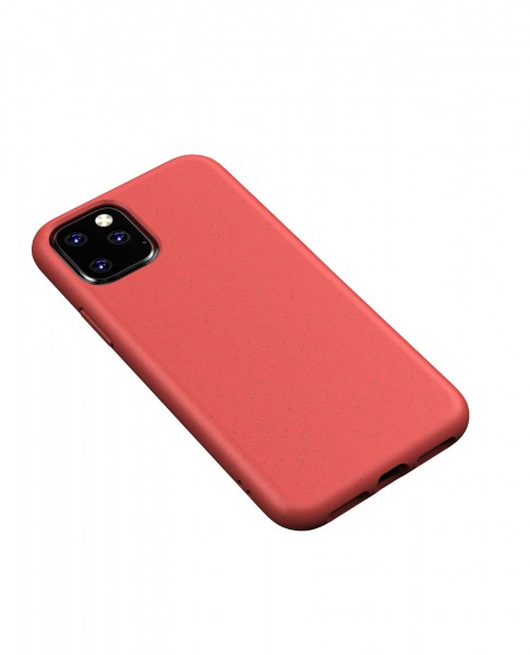iPhone 11 Hülle Eco Friendly Biobasiert Nachhaltig Kompostierbar Rot / Red